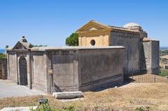 Chiesa della st Giacomo. Tarquinia. Il Lazio. L'Italia. Fotografie Stock