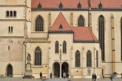 Chiesa della st Gilles fotografia stock