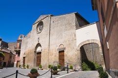 Chiesa della st Giovanni Battista. Tarquinia. Il Lazio. Immagine Stock