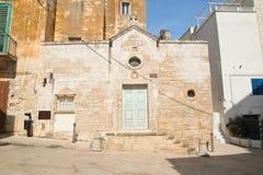 Chiesa della st Giovanni Monopoli La Puglia L'Italia Fotografia Stock Libera da Diritti