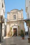 Chiesa della st Giuseppe Castellaneta La Puglia L'Italia Fotografia Stock Libera da Diritti