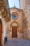 Chiesa della st Giuseppe Fasano La Puglia L'Italia Fotografie Stock