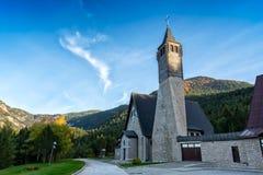 Chiesa della st Ilija Elijah in Masna Luka, Blidinje Immagini Stock Libere da Diritti