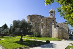 Chiesa della st John The Baptist in Byblos, Libano Immagine Stock