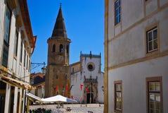 Chiesa della st John The Baptist, quadrato del mercato, Tomar Immagine Stock