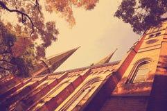 Chiesa della st Lamberti a Oldemburgo, Germania Fotografia Stock