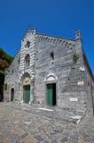 Chiesa della st Lawrence (circa 1582). Portovenere, Italia Fotografie Stock