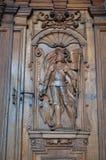 Chiesa della st Leodegar in Lucerna, Svizzera Fotografia Stock