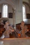 Chiesa della st Leodegar in Lucerna, Svizzera Immagine Stock Libera da Diritti