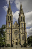 Chiesa della st Ludmila Immagini Stock