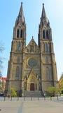 Chiesa della st Ludmila Prague Fotografia Stock Libera da Diritti