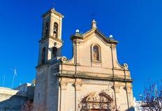 Chiesa della st Luigi Bitritto La Puglia L'Italia Immagini Stock Libere da Diritti