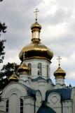 Chiesa della st Luke Archbishop di Simferopoli e della Crimea, confessore Fotografia Stock Libera da Diritti