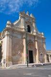 Chiesa della st Maria della Grazia. Galatina. La Puglia. L'Italia. Fotografie Stock