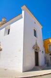 Chiesa della st Maria della Pieta San Severo La Puglia L'Italia Immagini Stock Libere da Diritti