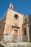 Chiesa della st Maria di Costantinopoli Giovinazzo La Puglia L'Italia Fotografia Stock