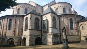 Chiesa della st Maria im Kapitol Fotografie Stock Libere da Diritti