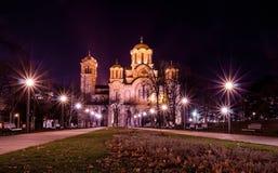 Chiesa della st Marko a Belgrado, Serbia fotografia stock