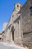 Chiesa della st Martino. Tarquinia. Il Lazio. L'Italia. Immagini Stock Libere da Diritti