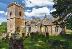 Chiesa della st Mary in Cotswolds, Chastleton, Regno Unito Fotografia Stock