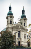 Chiesa della st Mary Magdalene, Karlovy Vary Fotografie Stock Libere da Diritti