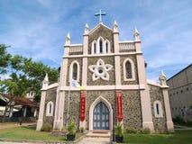 Chiesa della st Mary in Matara Immagine Stock