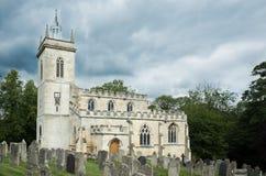 Chiesa della st Mary Virgin, Weldon Immagine Stock Libera da Diritti
