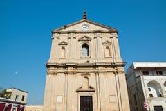 Chiesa della st Michele Arcangelo Castellaneta La Puglia L'Italia Fotografie Stock Libere da Diritti