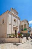 Chiesa della st Nicola Fasano La Puglia L'Italia Immagini Stock Libere da Diritti