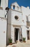 Chiesa della st Nicola Locorotondo La Puglia L'Italia Immagini Stock
