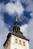 Chiesa della st Olafs, Tallinn Fotografia Stock Libera da Diritti
