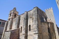 Chiesa della st Pancrazio. Tarquinia. Il Lazio. L'Italia. Fotografia Stock