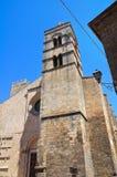 Chiesa della st Pancrazio. Tarquinia. Il Lazio. L'Italia. Immagine Stock Libera da Diritti
