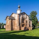 Chiesa della st Paraskeva Piatnitsa In The Marketplace, Veliky Novgorod, Russia immagini stock libere da diritti