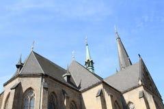 Chiesa della st Prokop Fotografia Stock Libera da Diritti