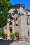 Chiesa della st Quintino. Montechiarugolo. L'Emilia Romagna. L'Italia. Fotografia Stock Libera da Diritti