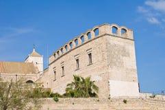 Chiesa della st Scolastica bari La Puglia L'Italia Fotografia Stock Libera da Diritti
