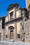 Chiesa della st Spirito. Tarquinia. Il Lazio. L'Italia. Immagine Stock Libera da Diritti
