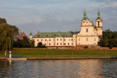 Chiesa della st Stanislaw o chiesa sulla roccia a Cracovia immagine stock