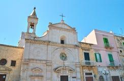 Chiesa della st Stefano Molfetta La Puglia L'Italia Fotografie Stock Libere da Diritti