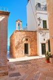 Chiesa della st Stefano Polignano una giumenta La Puglia L'Italia Fotografie Stock
