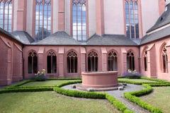 Chiesa della st Stephan a Mainz fotografie stock