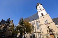 Chiesa della st Thomas - Leipzig, Germania Fotografia Stock