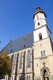 Chiesa della st Thomas - Leipzig, Germania Immagine Stock Libera da Diritti