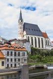 Chiesa della st Vitus nello stile gotico Fotografia Stock Libera da Diritti