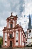 Chiesa della st Vitus, Veitshochheim, Germania Fotografia Stock