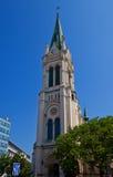 Chiesa della traduzione di vergine Maria (1888) a Bratislava Immagine Stock