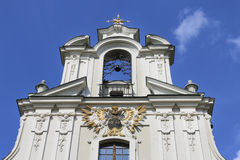 Chiesa della trasfigurazione del nostro Lord Krakow, Polonia di Piarist Fotografie Stock