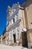 Chiesa della trinità della st di Celestini San Severo La Puglia L'Italia Fotografia Stock