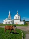Chiesa della trinità sacra Fotografia Stock